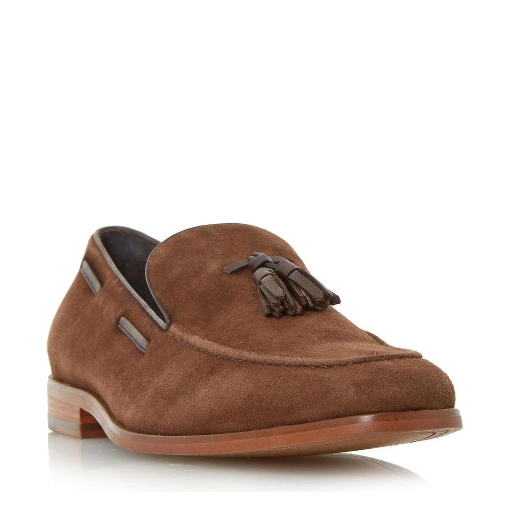 Ryon Tassel Detail Suede Loafer