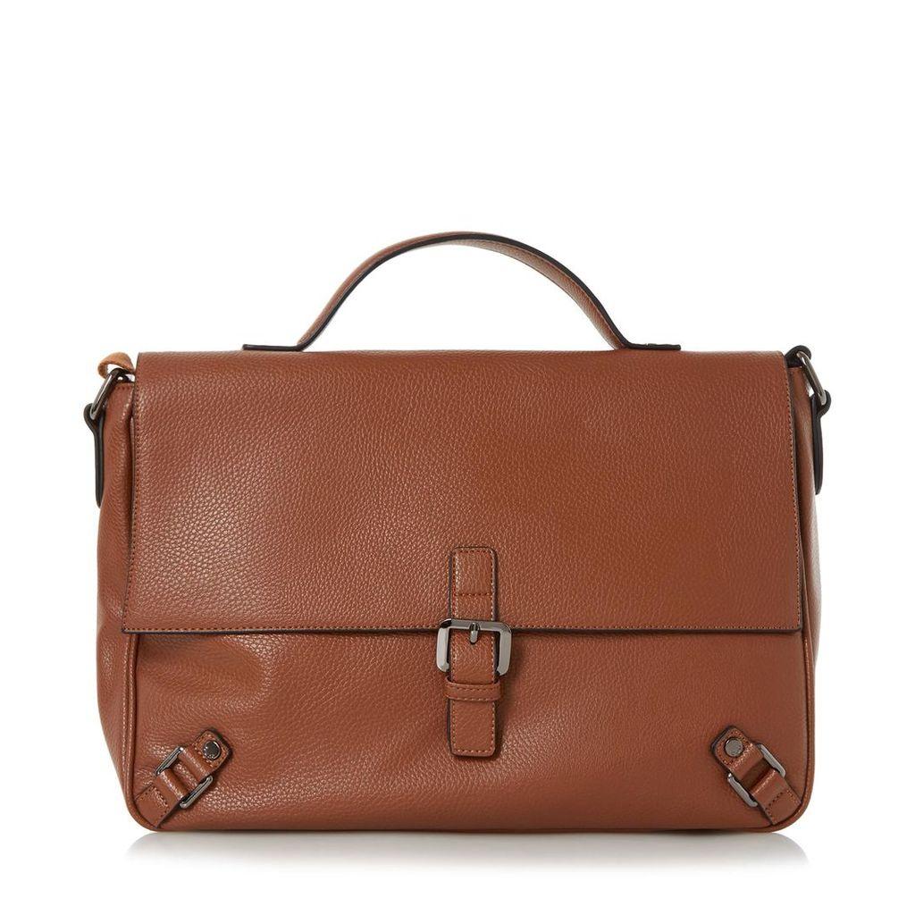 Pembletons Buckle Detail Messenger Bag