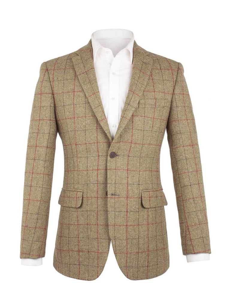 Men's Aston & Gunn Astley Twill Jacket, Green