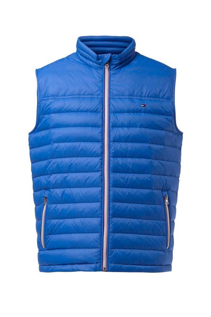 Men's Tommy Hilfiger LW Down Vest, Bright Blue