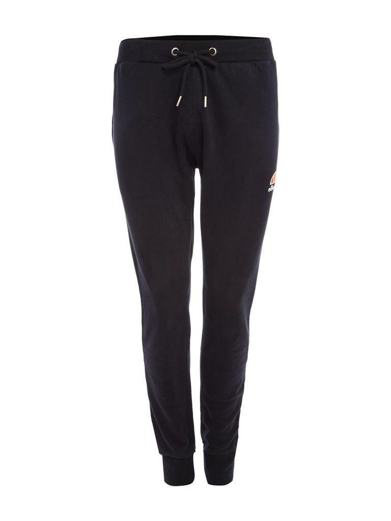Men's Ellesse Classic logo jogging bottoms, Black