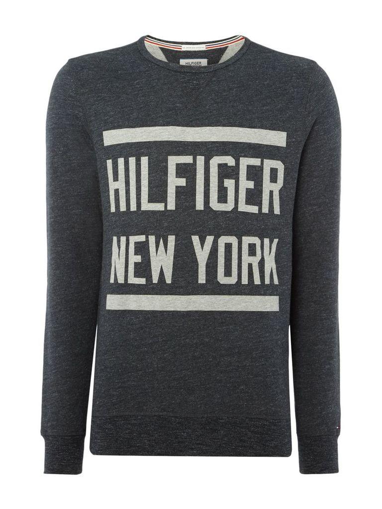 Men's Tommy Hilfiger THDM Basic Graphic Sweater, Black