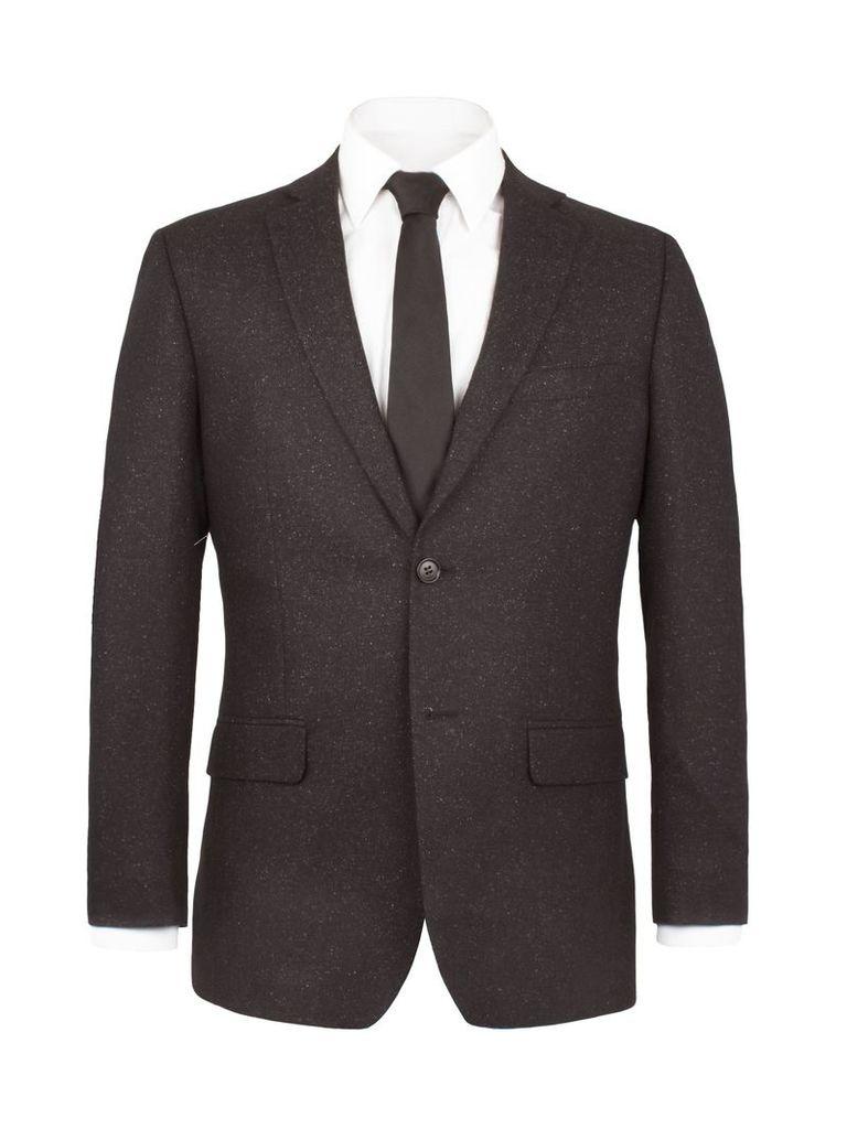 Men's Alexandre of England Wilmington Speckle Suit Jacket, Charcoal