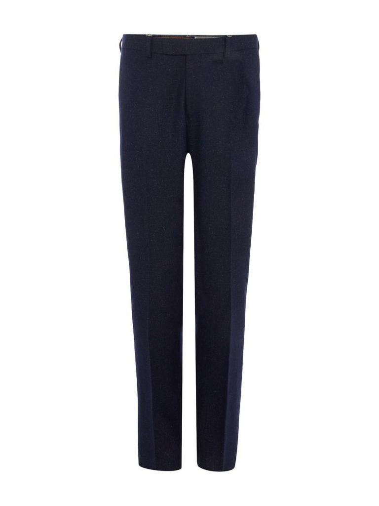 Men's Kenneth Cole Bronx Slim fit donegal suit trouser, Blue