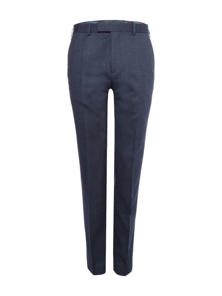 Men's Ted Baker Twitro The Commuter Herringbone Suit Trousers, Blue