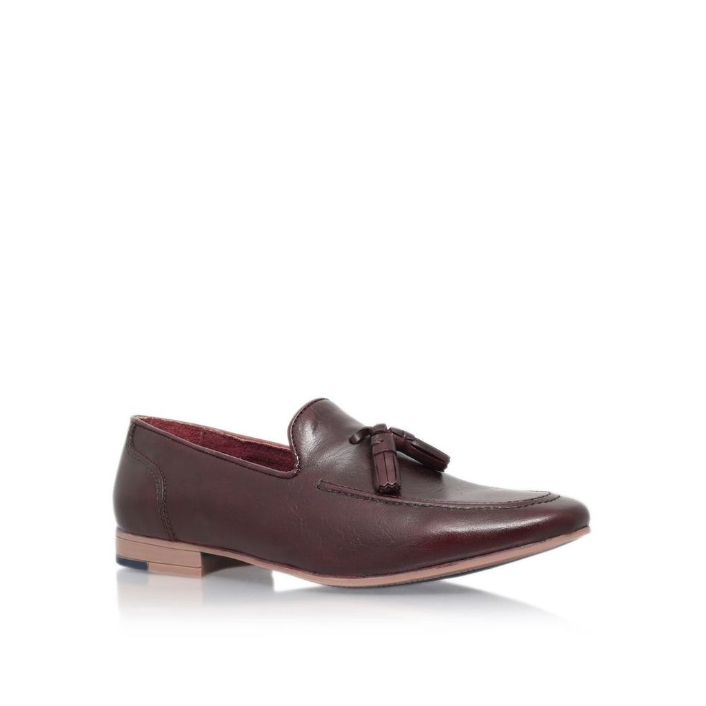 KG Dewsbury Slip on Leather Loafers, Red