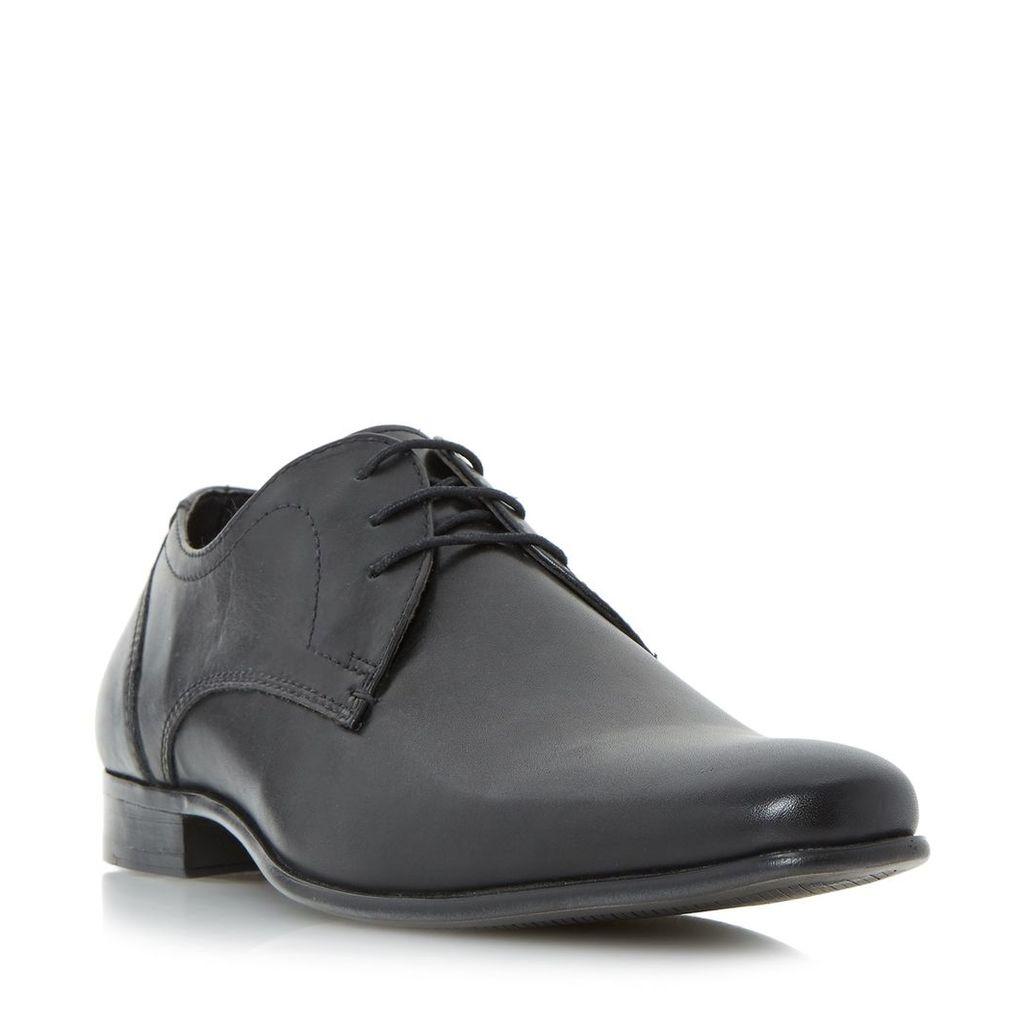 Howick Payson plain toe gibson shoe, Black
