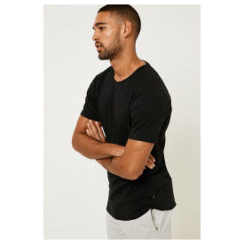Only & Sons Short Sleeve Fitted T-shirt - Black