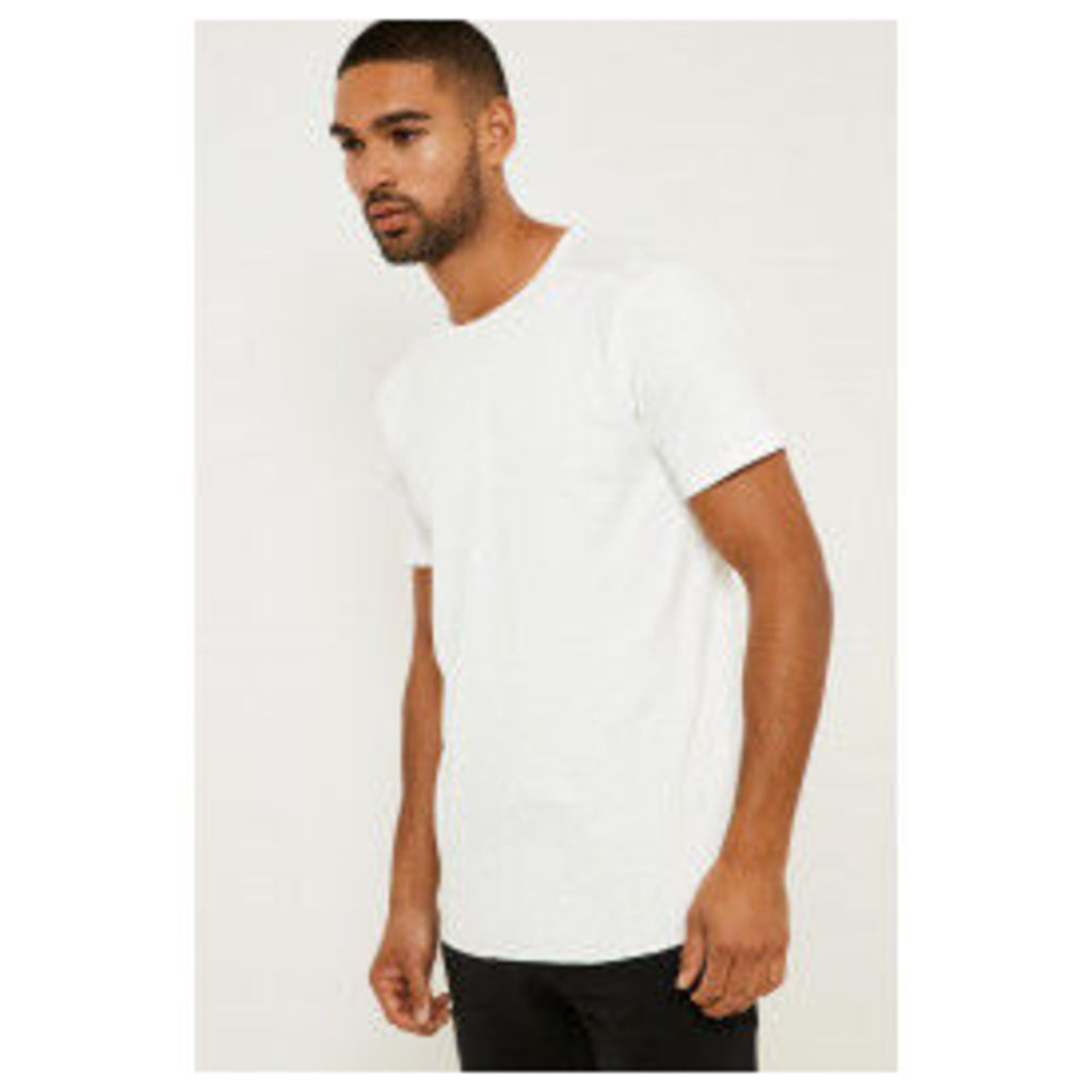 Only & Sons Short Sleeve Fitted T-shirt - White