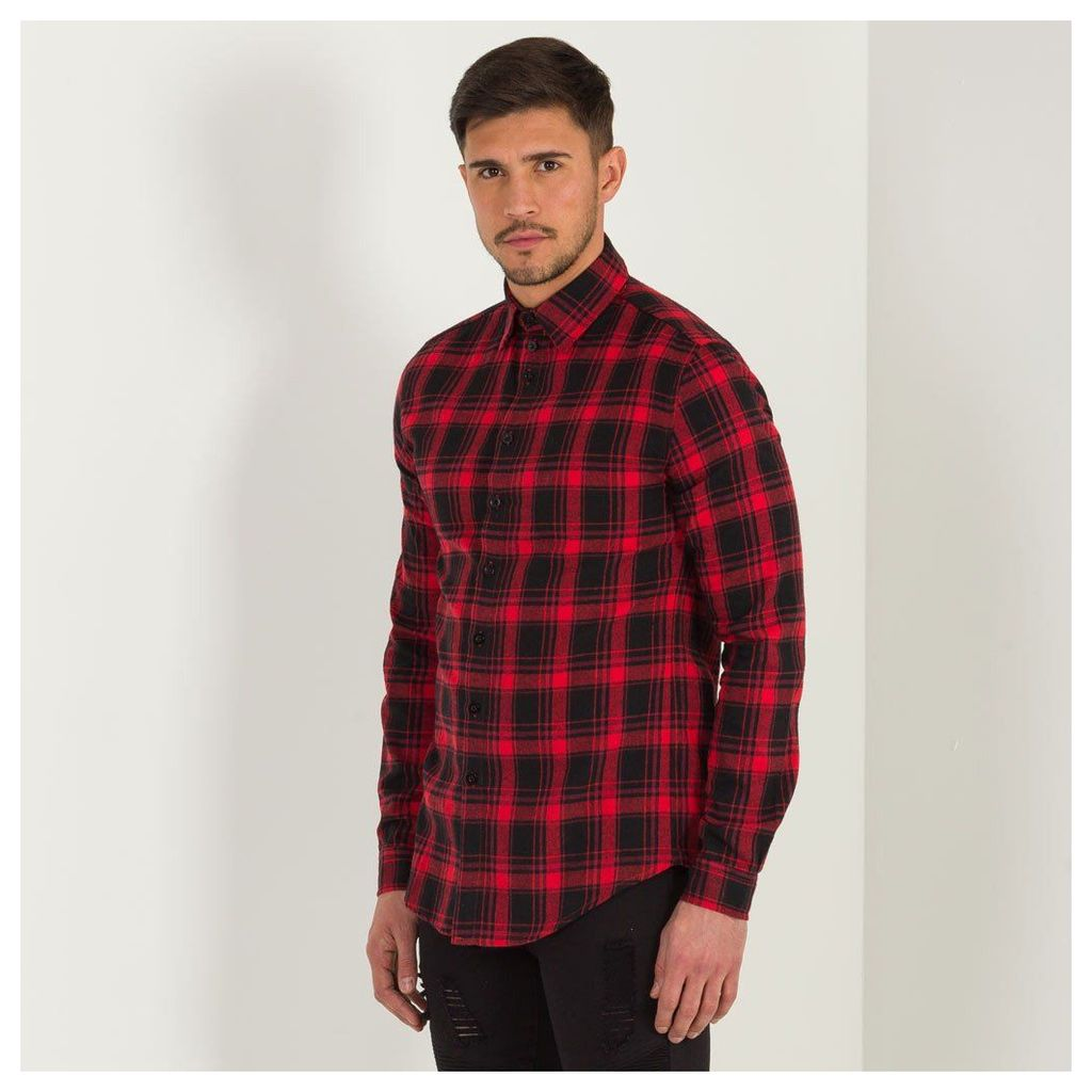 Maniere De Voir; Checked Shirt - Red Checked