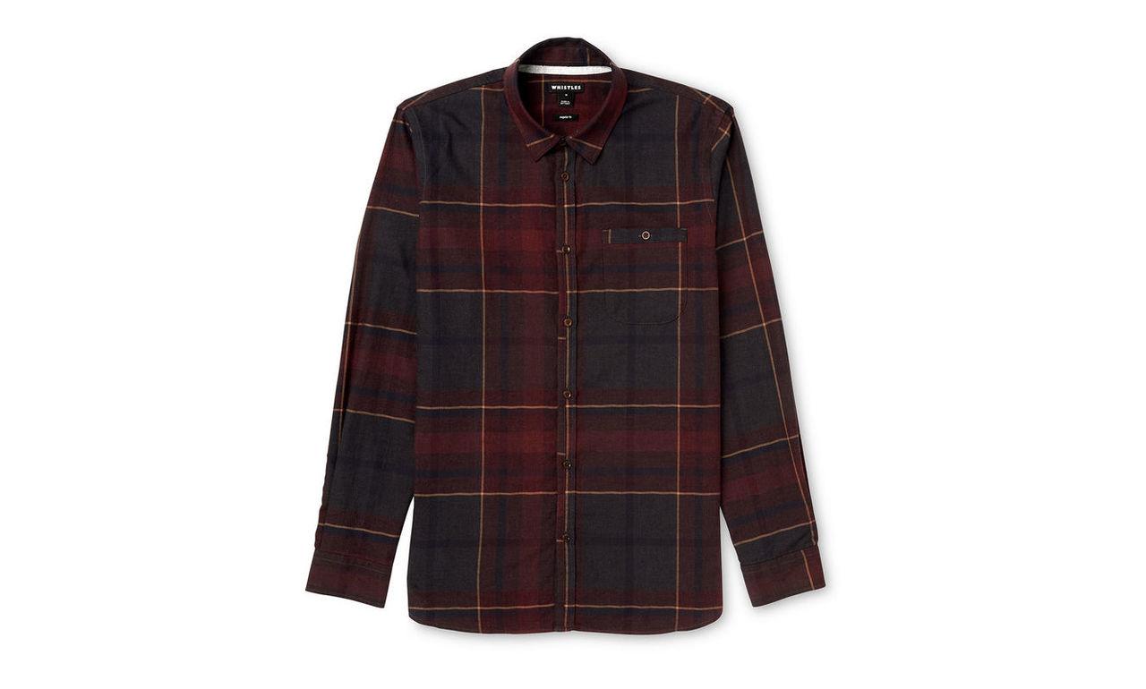 Expanded Check Shirt