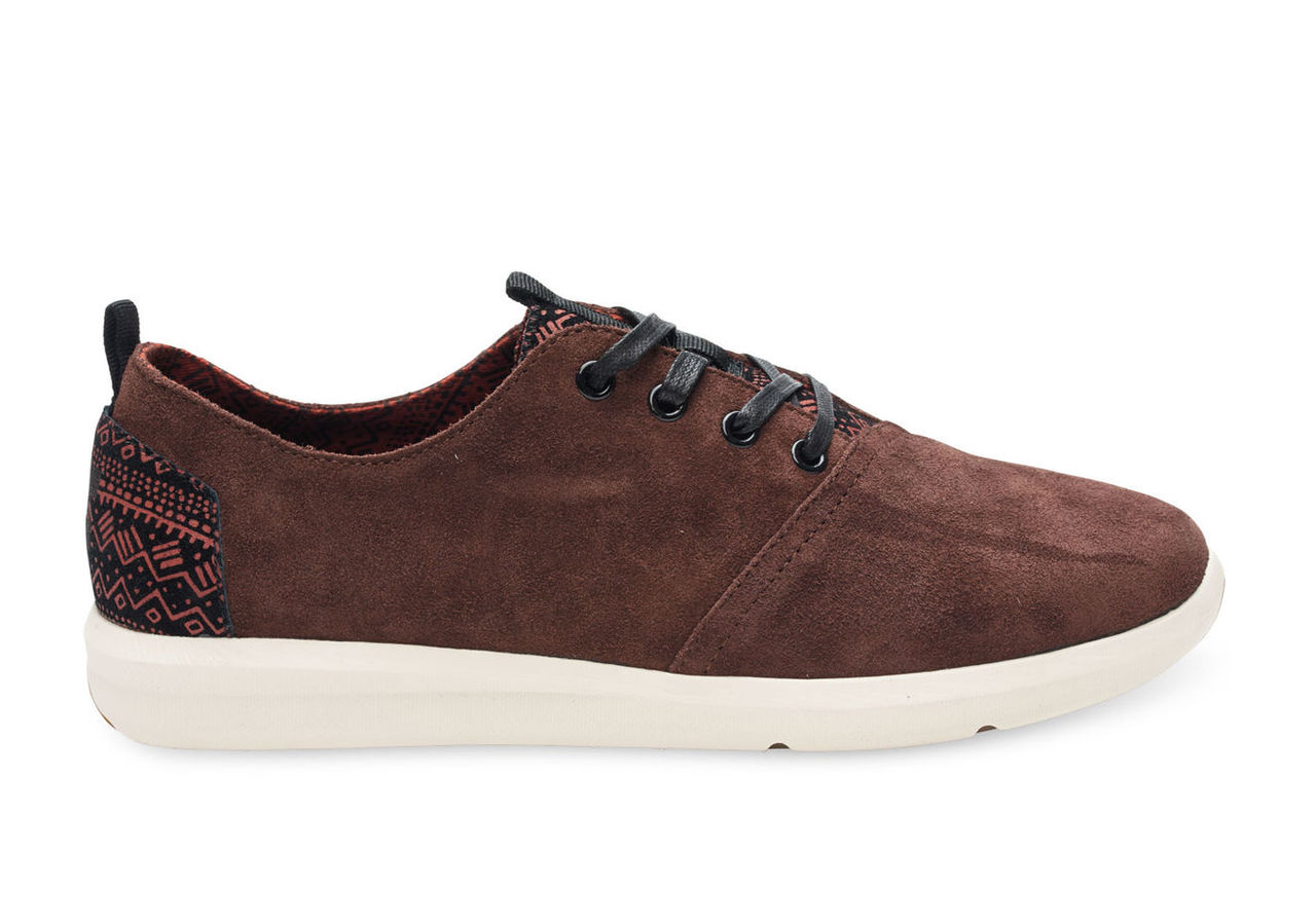 Dark Earth Suede Men's Del Rey Sneakers