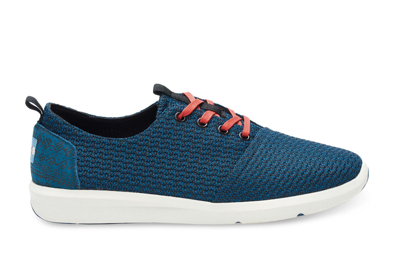 Legion Blue Mesh Men's Del Rey Sneakers