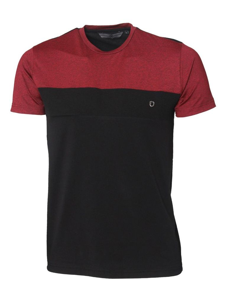 Rector Mens T-Shirt Red/Black