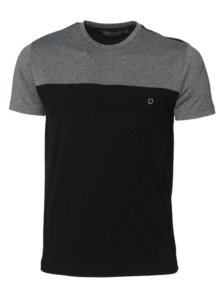 Rector Mens T-Shirt Grey/Black
