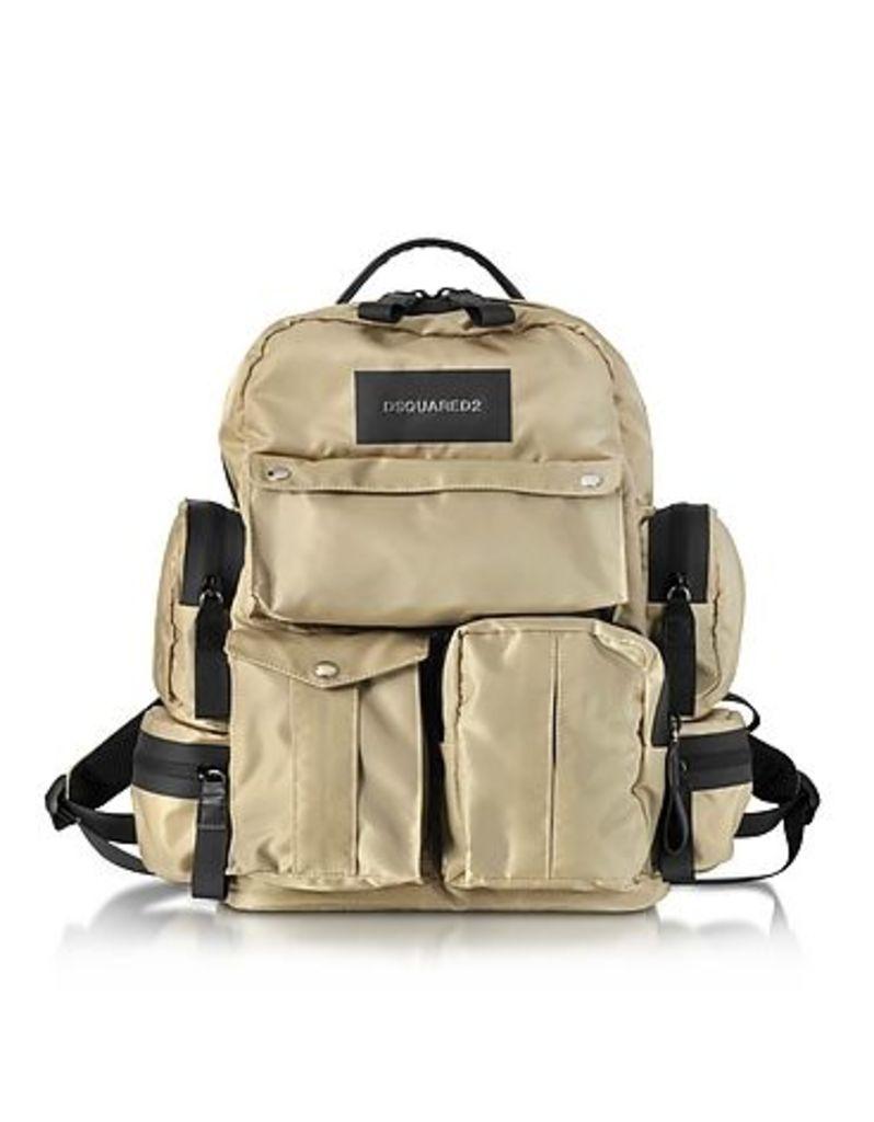 DSquared2 - Nylon Utilitary Backpack