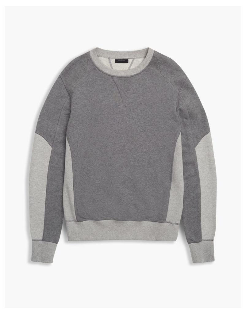 Belstaff Matterley Crew Neck Sweatshirt Dark Grey