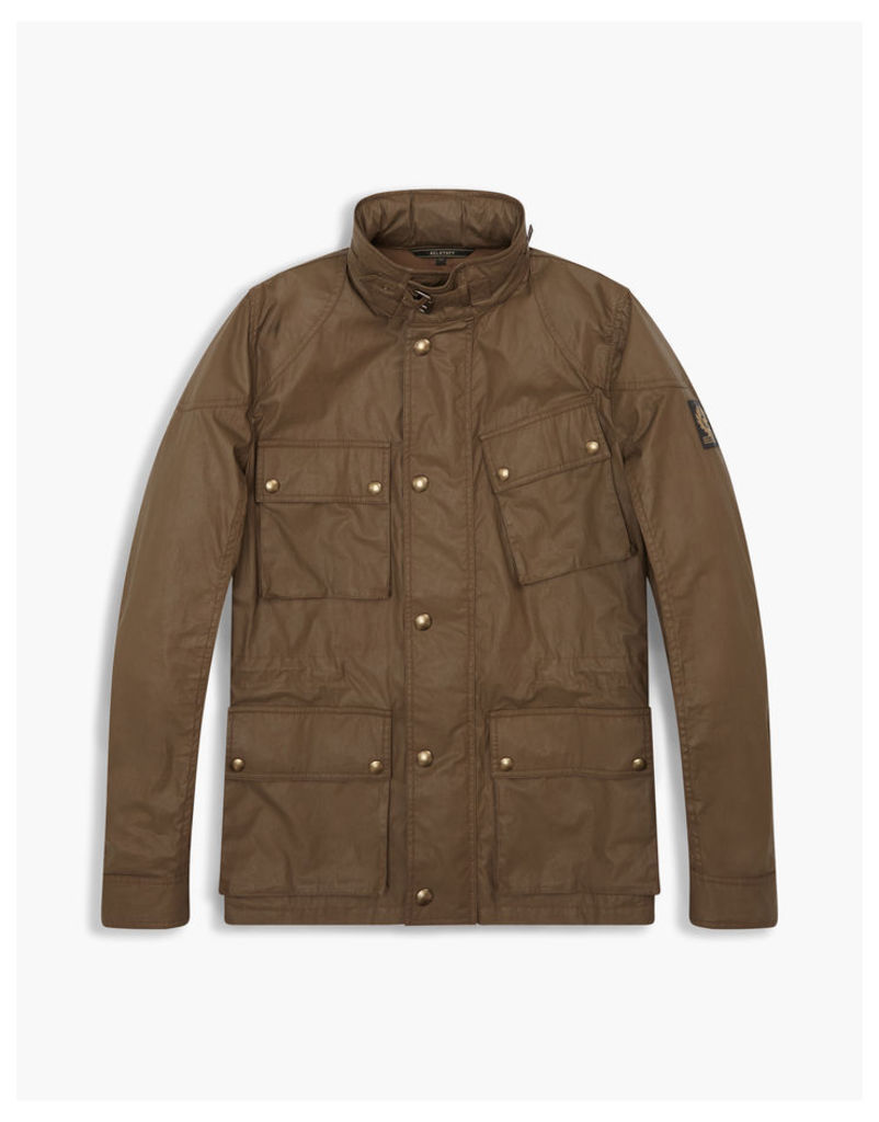 Belstaff Townmaster Hooded Jacket Dusty Military Green