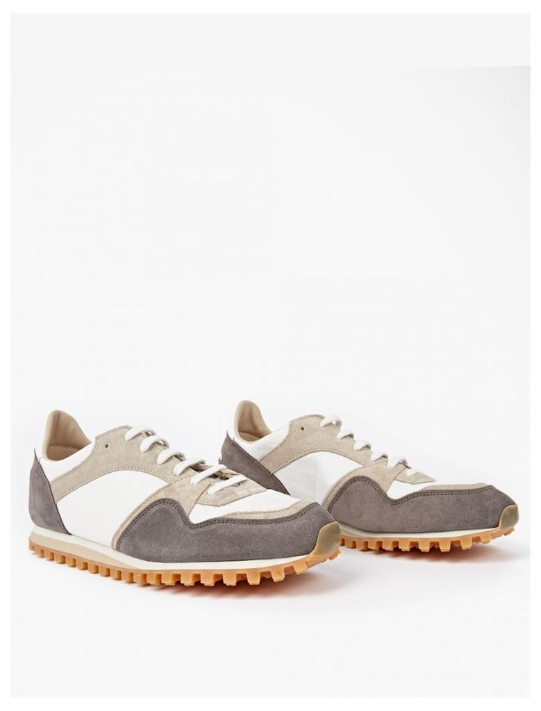 Graphite Suede Marathon Trail Sneakers