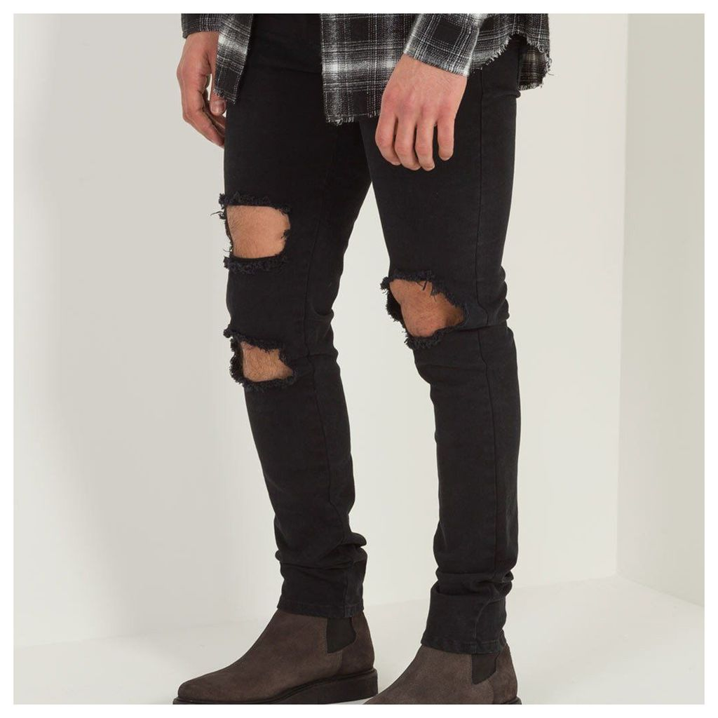 Maniere De Voir; Destroyed Jean - Black