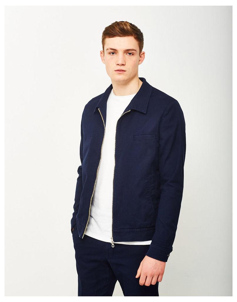 Gant Rugger Textured Shirt Jacket Blue