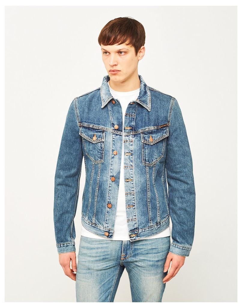 Nudie Jeans Co Billy Denim Jacket Crunch Blue