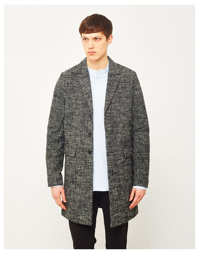 Only & Sons Melange Phoenix Coat Black