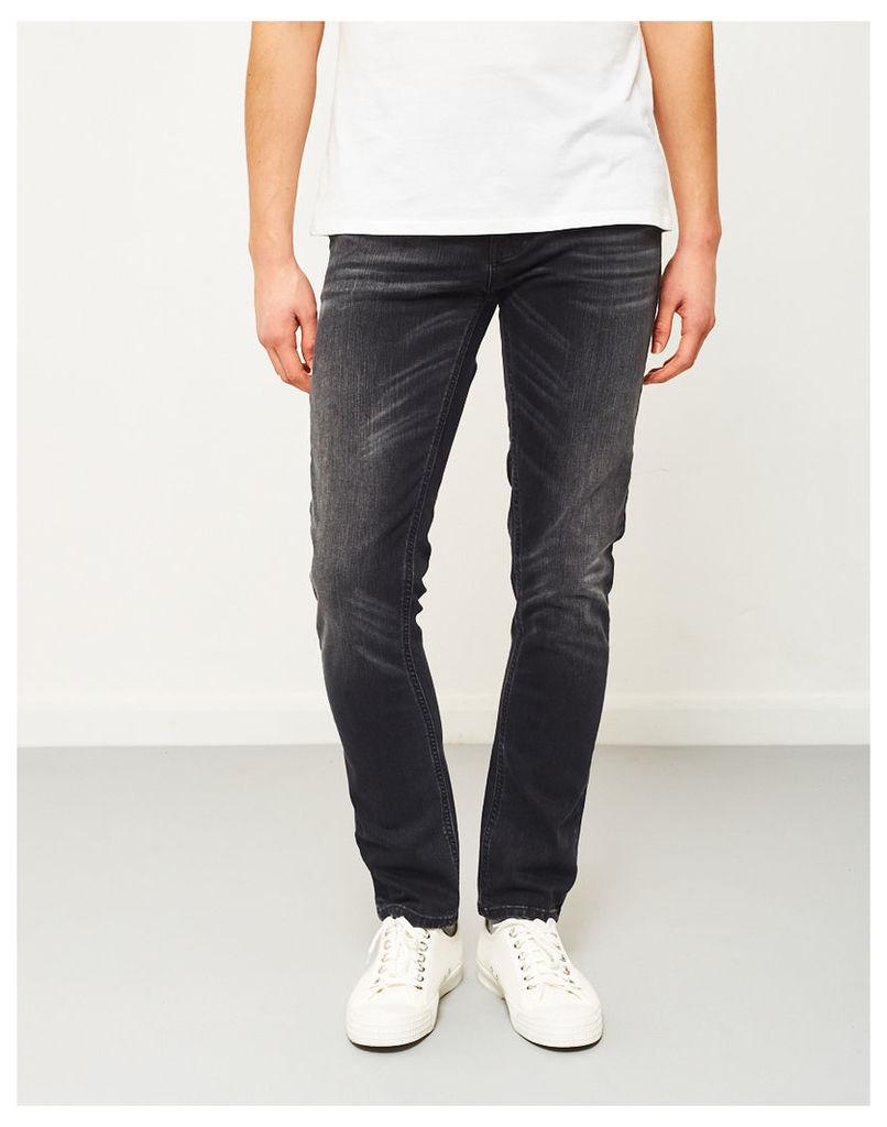 Nudie Jeans Co Grim Tim Dark Days Jeans Grey