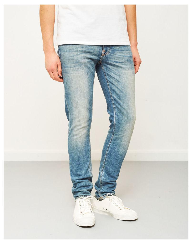 Nudie Jeans Co Lean Dean Sliver Lake Jeans Blue
