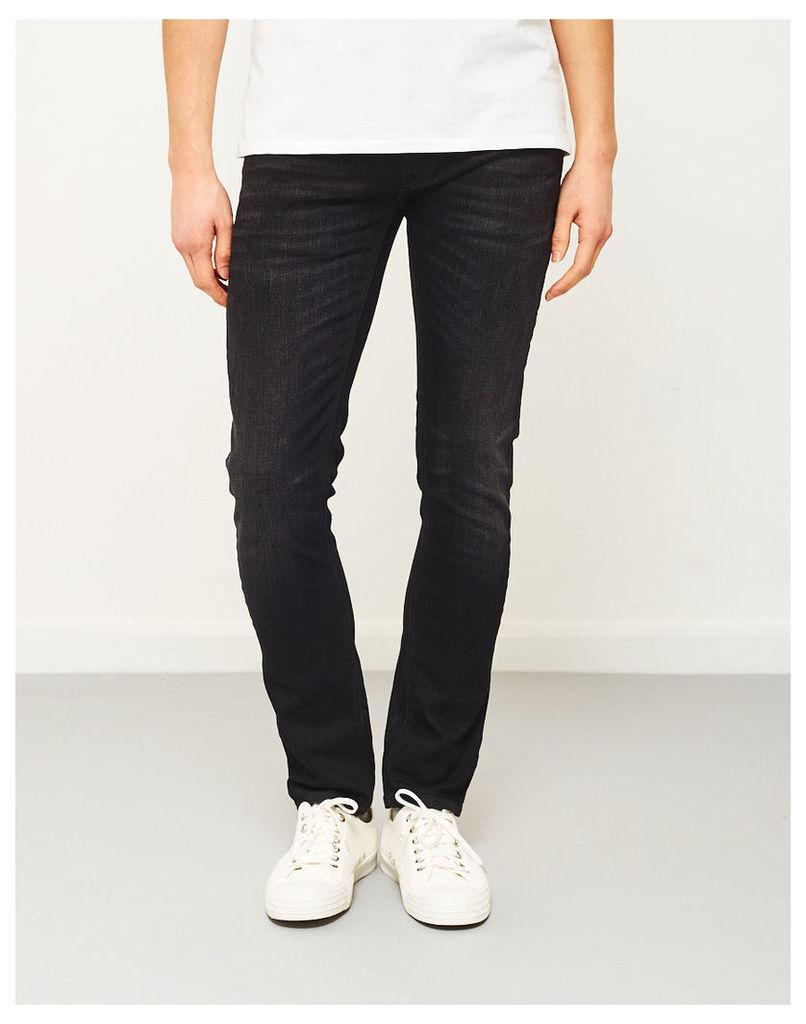 Nudie Jeans Co Long John Black Blizzard Jeans