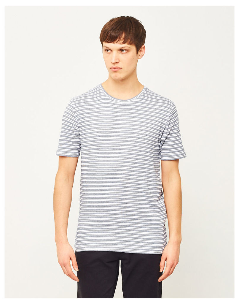 Only & Sons Poulper Fitted Fishtail T-Shirt White