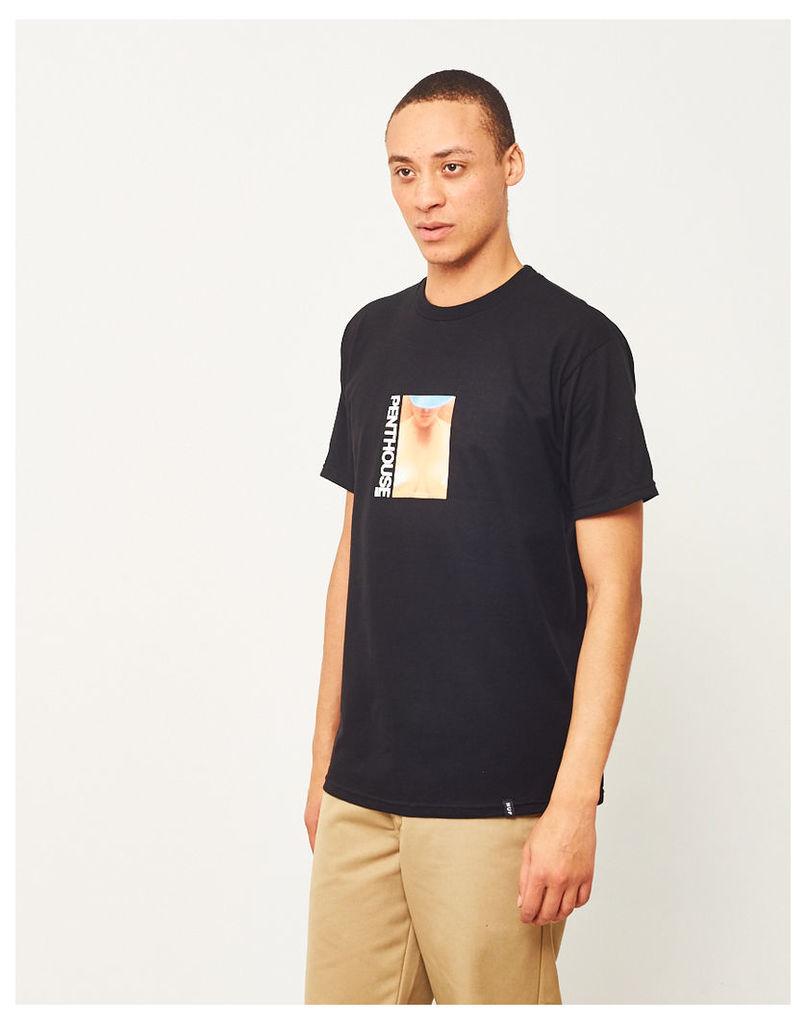 HUF X Penthouse April 1981 T-Shirt Black