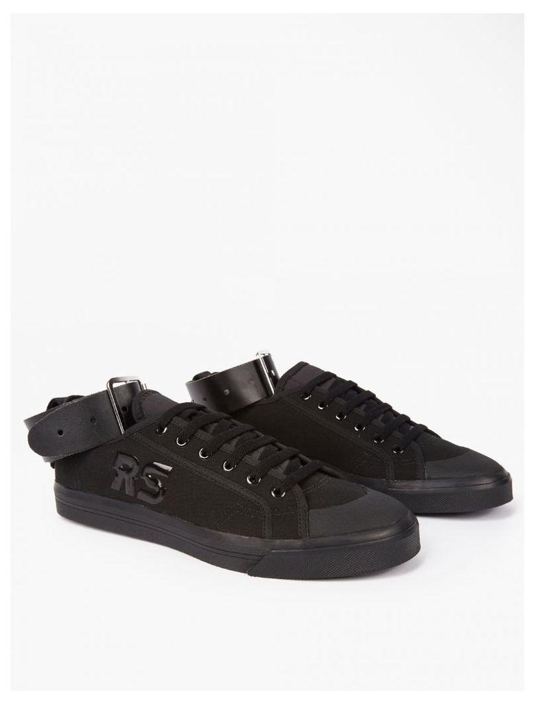 Black Spirit Low Buckle Sneakers