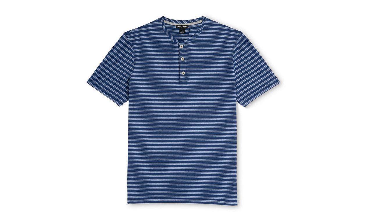 Button Neck T-shirt