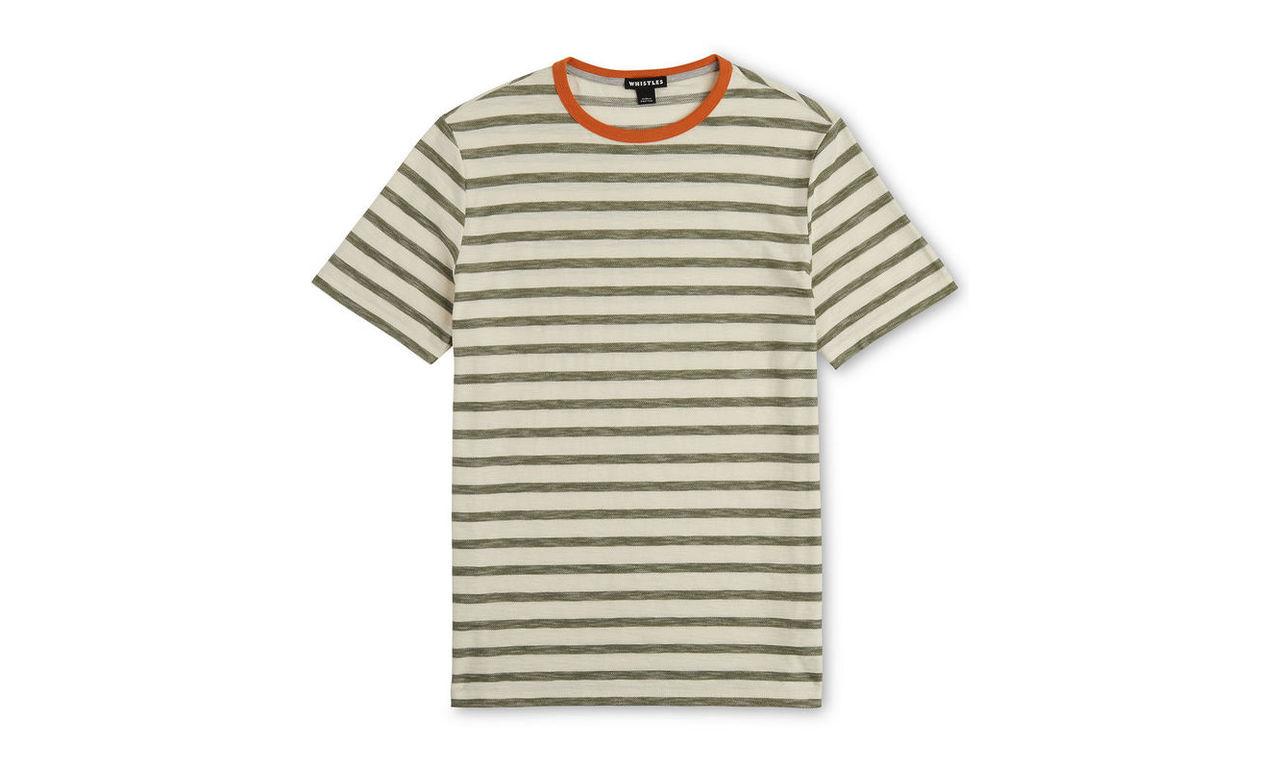 Herringbone Stripe T-shirt