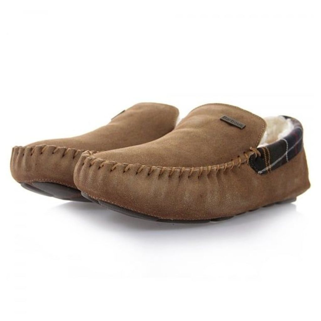 Barbour Monty Camel Slippers MFO0217BE51