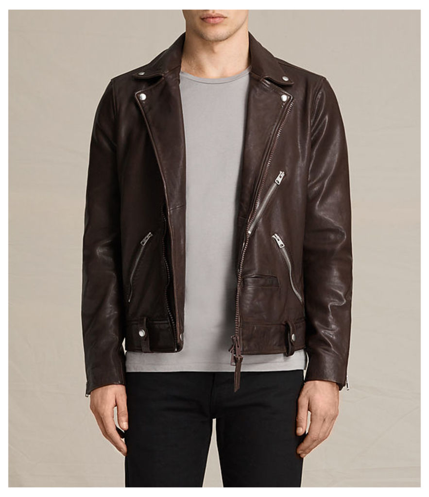 Muir Leather Biker Jacket