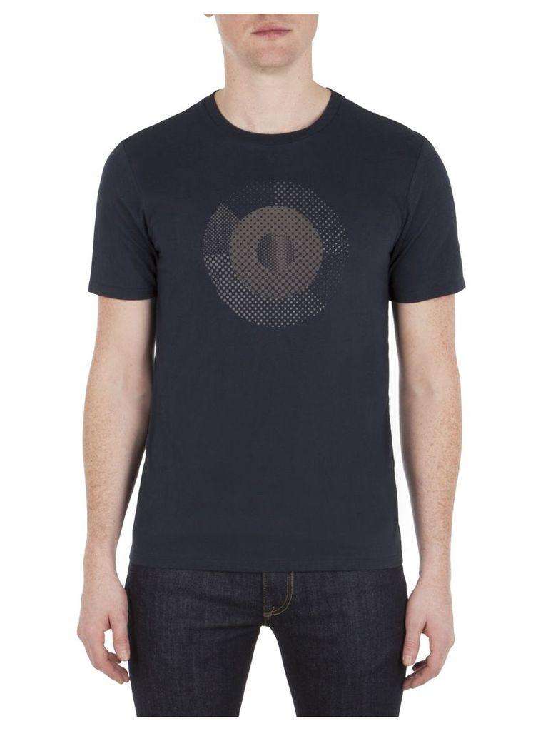Hero Pixelated Target T-Shirt XXL B51 Navy Blazer