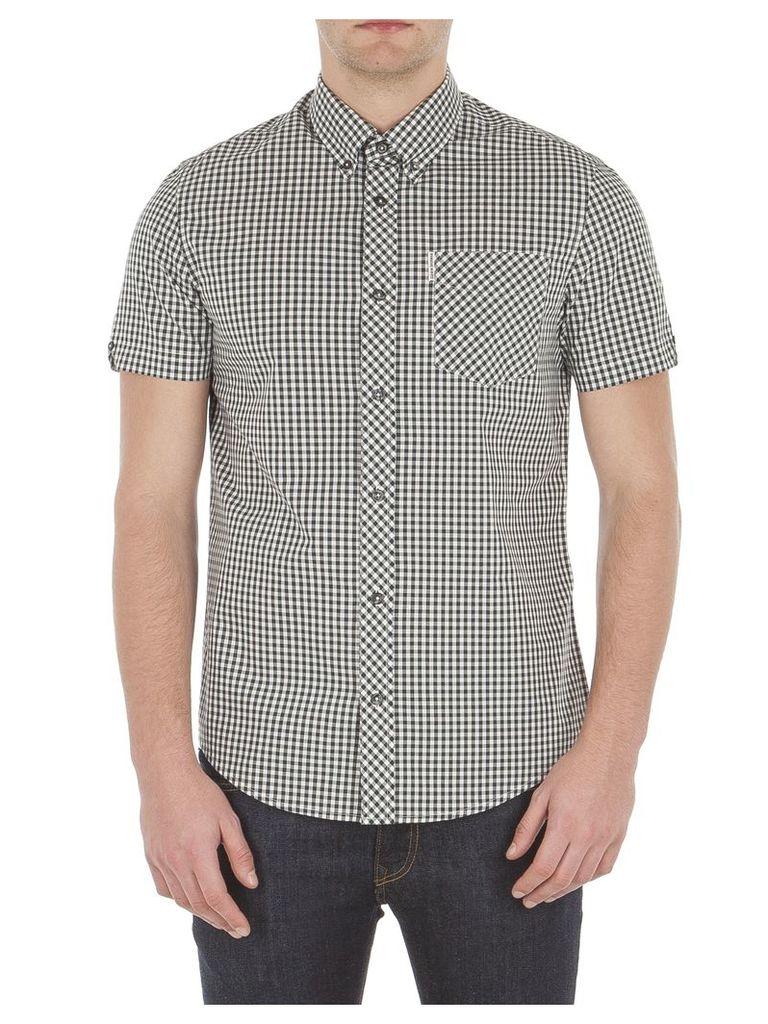 Short Sleeve Core Gingham Shirt XXS K13BritRacingGreen