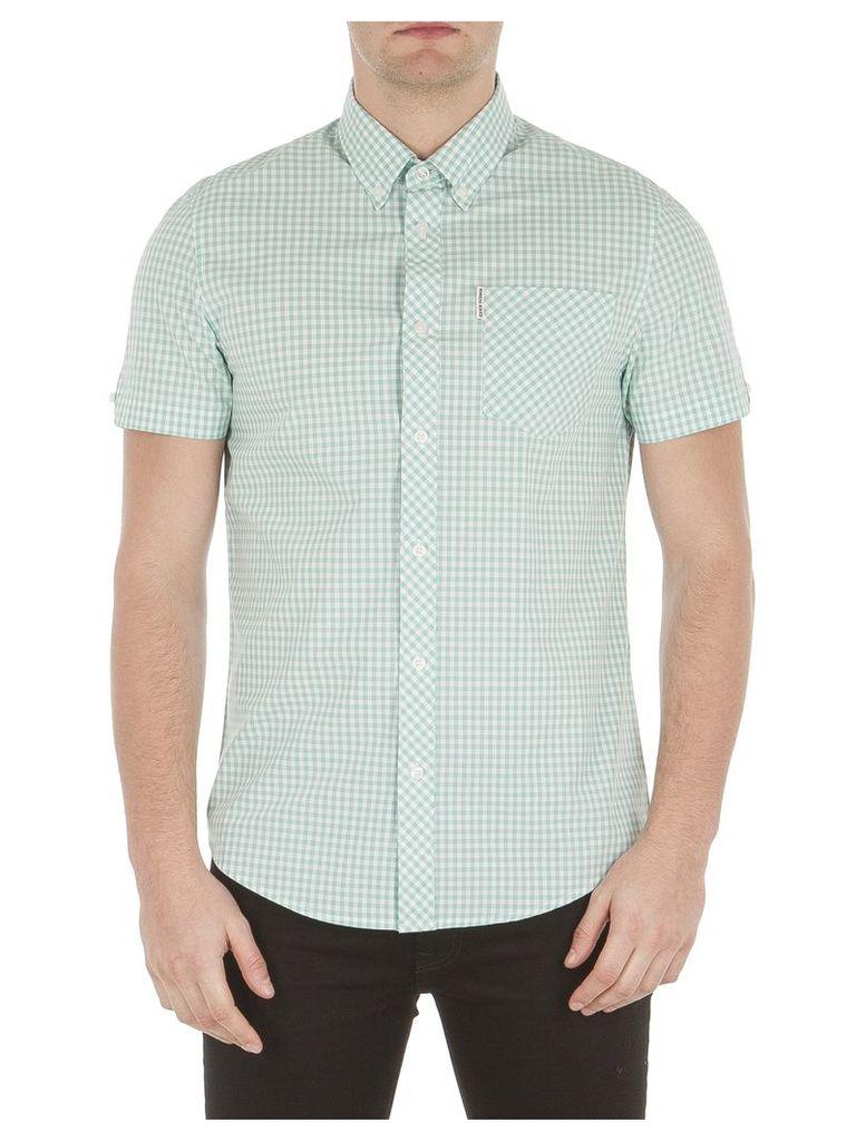 Short Sleeve Core Gingham Shirt XXS 183 Mint