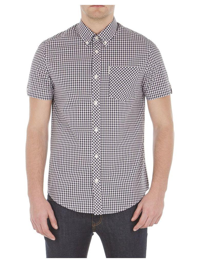 Short Sleeve Core Gingham Shirt XXS G03 Chalk Pink