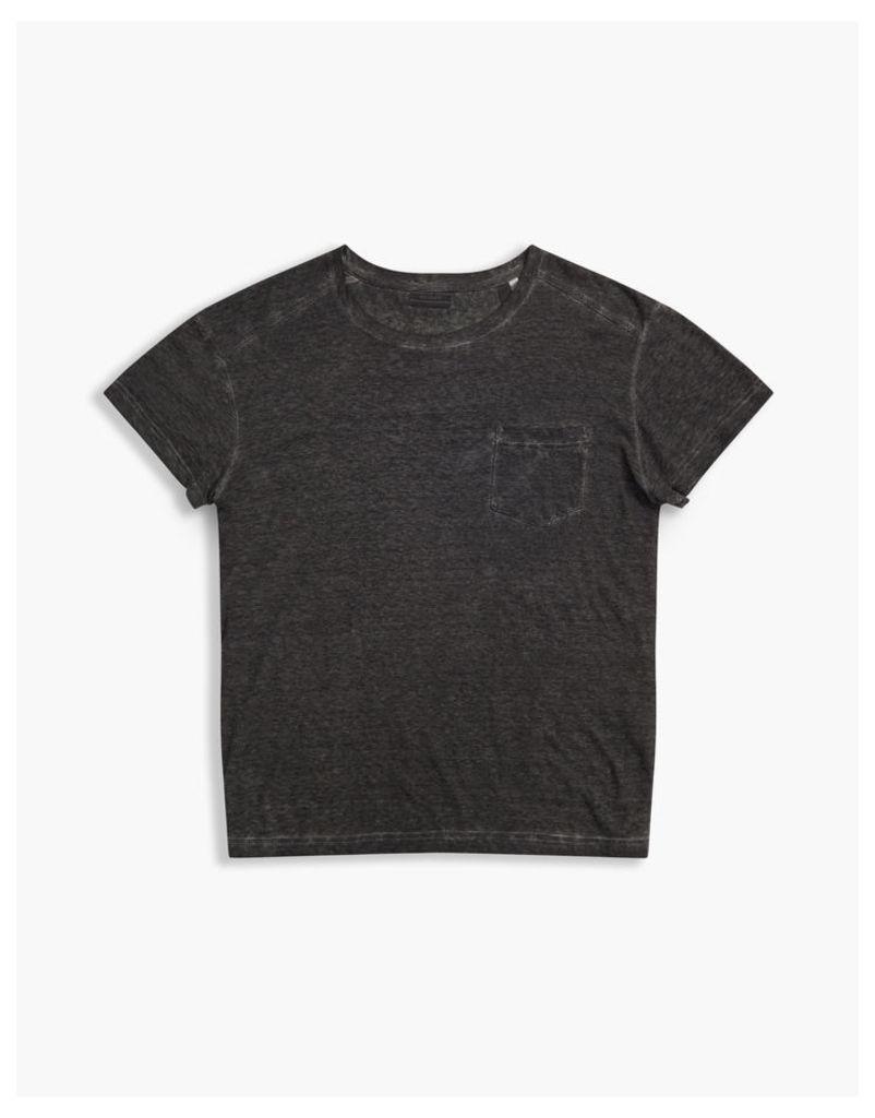 Belstaff Crossfell Crew Neck T-Shirt Antique Black