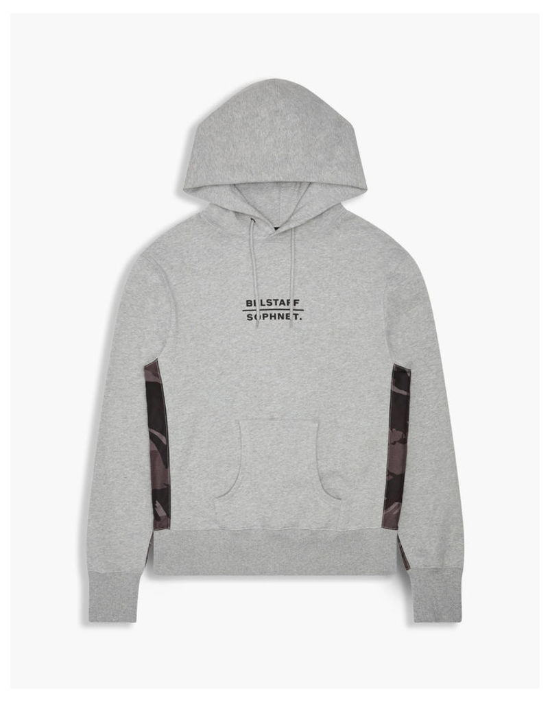 Belstaff Sophnet Elmhurst Hooded Sweatshirt Grey Melange