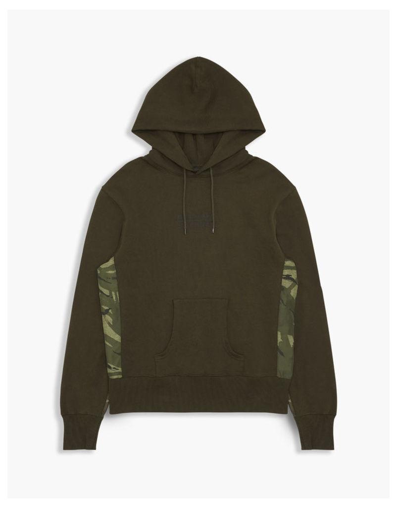 Belstaff Sophnet Elmhurst Hooded Sweatshirt Faded Olive