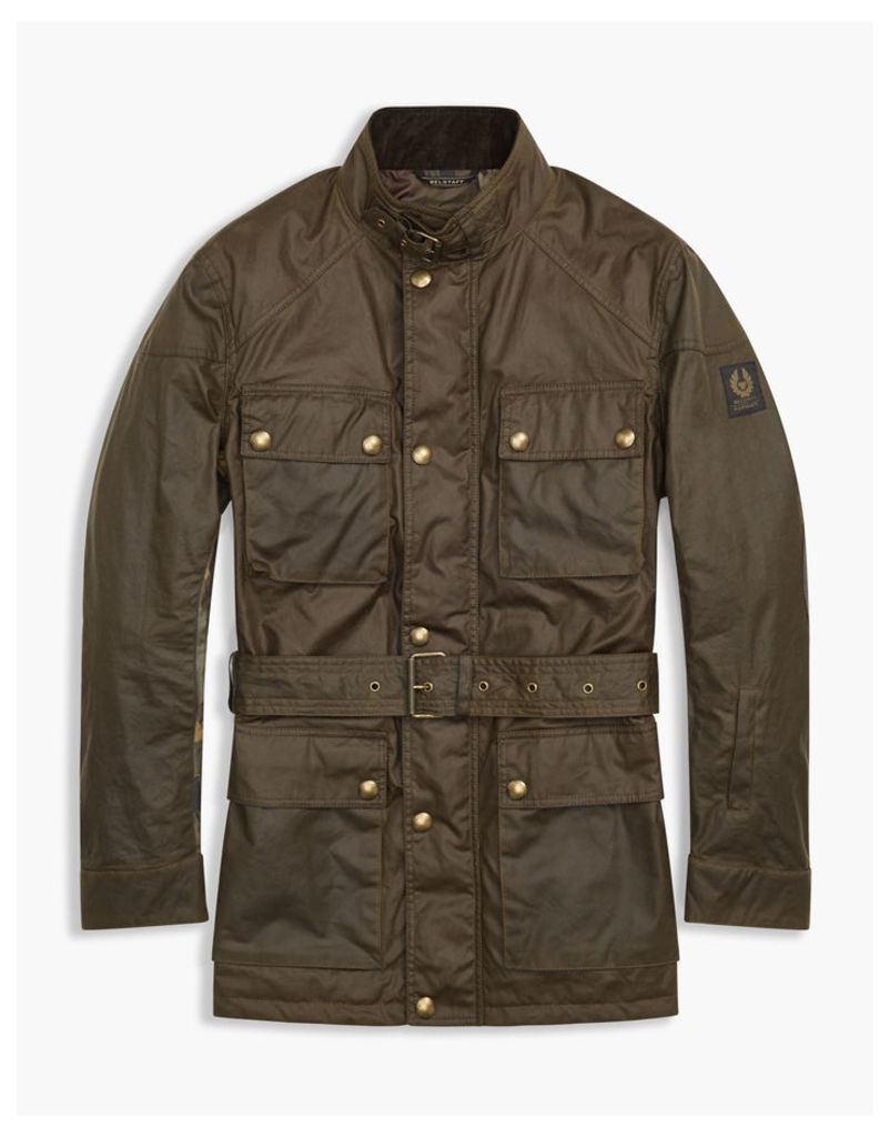 Belstaff Sophnet Roadmaster 4-Pocket Jacket Faded Olive