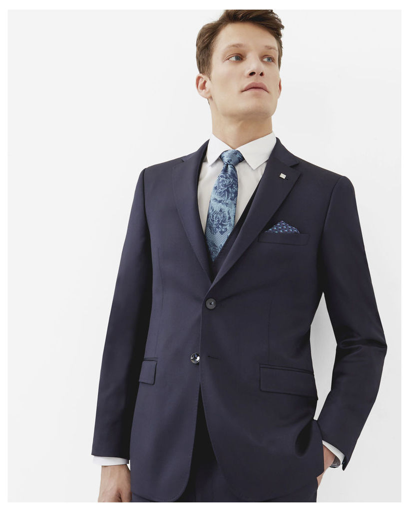 Ted Baker Debonair wool jacket Dark Blue