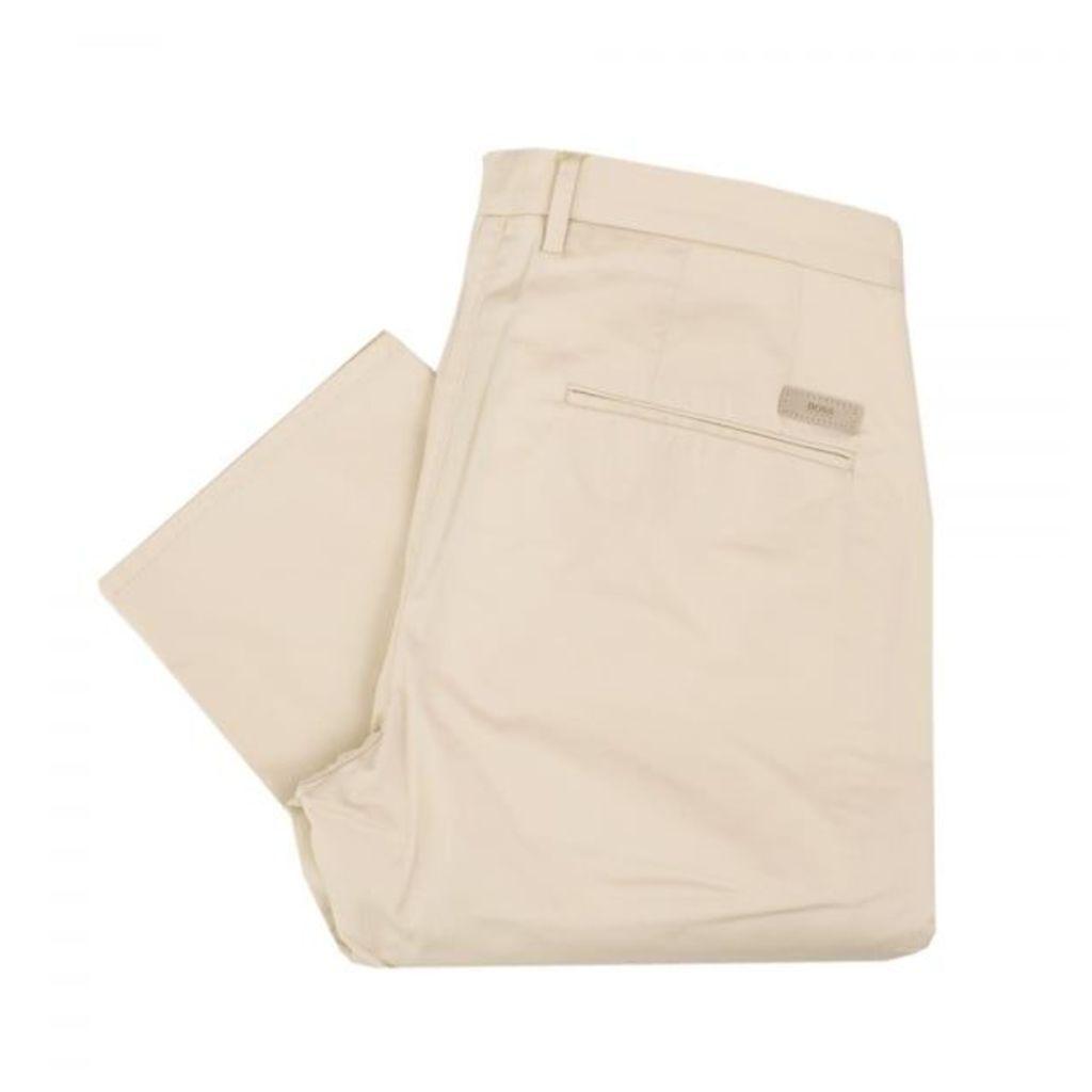Hugo Boss C-rice 1-1-W Medium Beige Chino Trousers 50308295