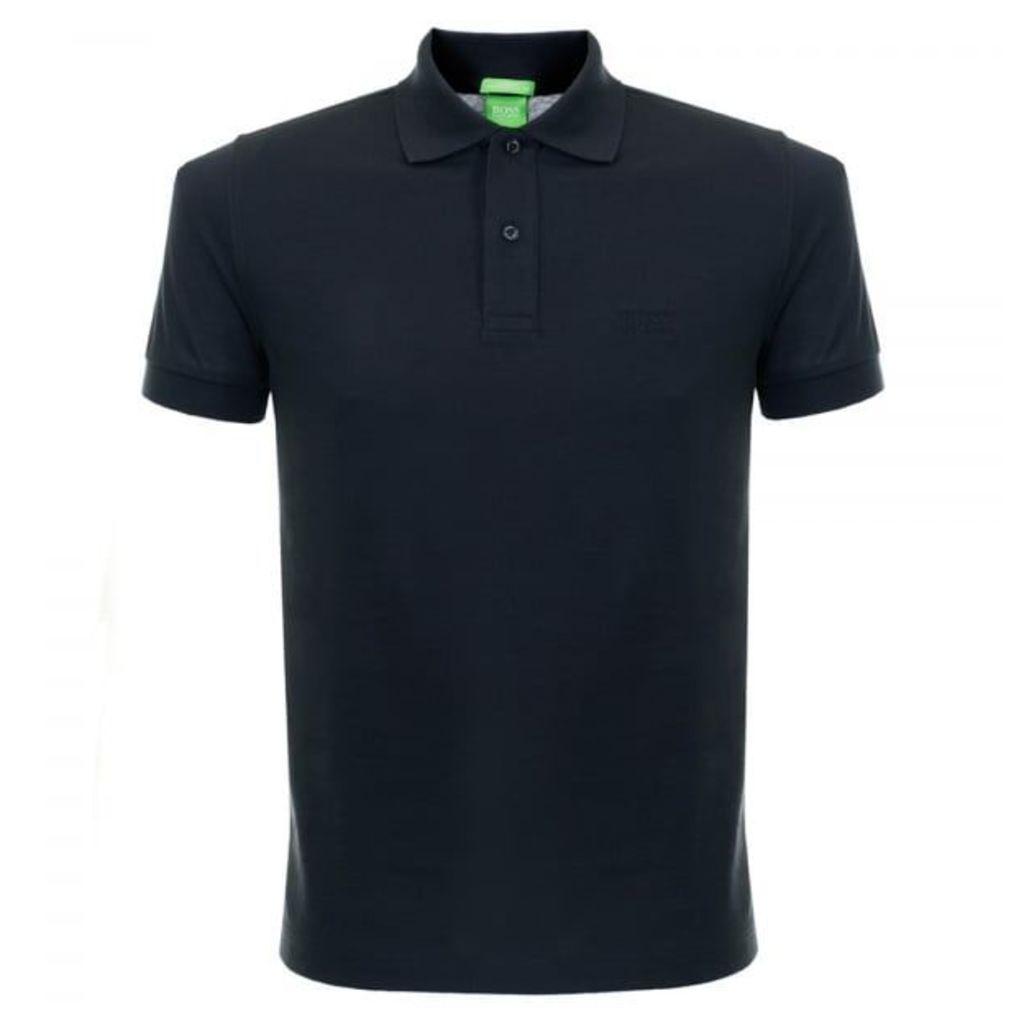 Boss C-Firenze Logo Pique Dark BLue Polo Shirt 50292333