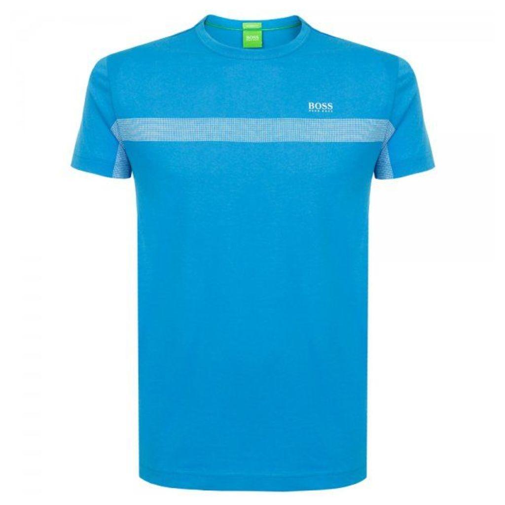 Hugo Boss Green Tee 3 Bright Blue T-Shirt 50290134