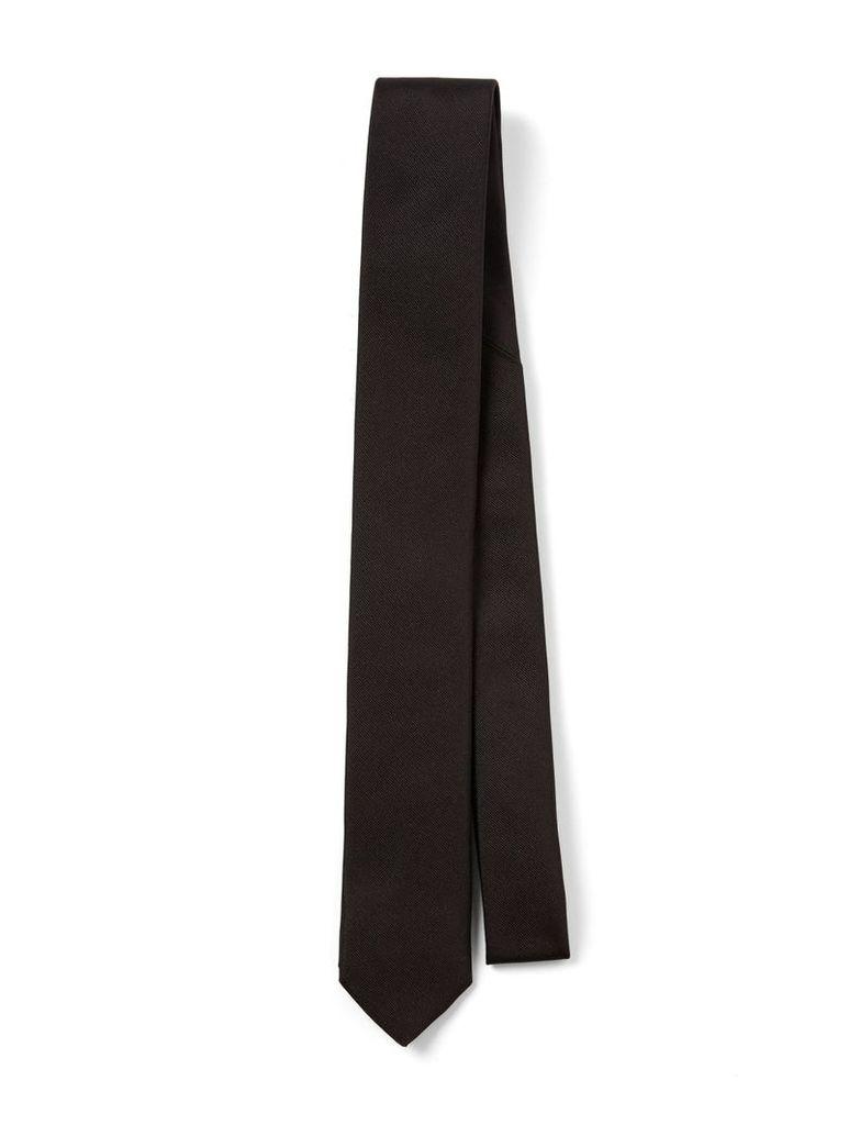 Silk Tie in Black